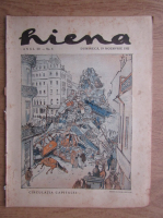 Revista Hiena, anul III, nr. 6, 19 noiembrie 1922