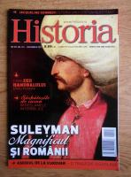 Anticariat: Revista Historia. Suleyman Magnificul si romanii, anul XIII, nr. 143, decembrie 2013