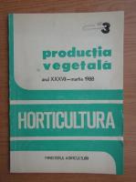 Anticariat: Revista Horticultura, anul XXXVII, nr. 3, martie 1988