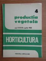 Revista Horticultura, anul XXXVII, nr. 4, aprilie 1988