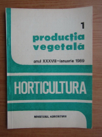 Anticariat: Revista Horticultura, anul XXXVIII, nr, 1, ianuarie 1989