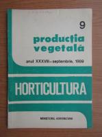 Anticariat: Revista Horticultura, anul XXXVIII, nr. 9, septembrie 1989