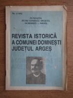 Anticariat: Revista istorica a comunei Domnesti, judetul Arges, nr. 1, 1992