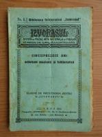 Anticariat: Revista Izvorasul, Cincisprezece ani de activitate muzicala si folkloristica, nr. 6, 1934