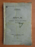 Anticariat: Revista Izvorasul. Douazeci ani, Activitate muzicala, folklorstica si culturala 1939