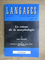 Revista Langages, nr. 78, juin 1985