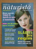 Anticariat: Revista Medicina naturista, nr. 10 (39), octombrie 2001