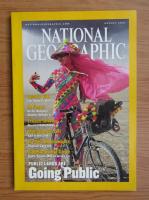 Anticariat: Revista National Geographic, august 2001