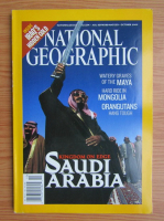 Revista National Geographic, octombrie 2003
