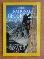 Anticariat: Revista National Geographic, vol. 189, nr. 4, aprilie 1996