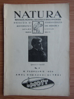 Anticariat: Revista Natura, nr. 2, februarie 1934