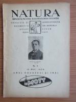 Revista Natura, nr. 5, mai 1934