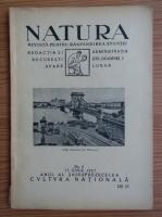 Revista Natura, nr. 6, iunie 1927