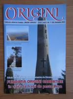 Anticariat: Revista Origini, seria I, anul 3, nr. 11 (28), Noiembrie 2015