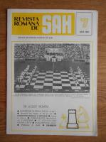 Anticariat: Revista romana de sah, nr. 7, 1987