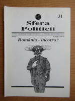 Anticariat: Revista Sfera Politicii, anul IV, nr. 31, 1995