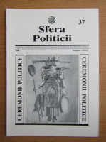 Anticariat: Revista Sfera Politicii, anul V, nr. 37, 1996