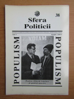 Anticariat: Revista Sfera Politicii, anul V, nr. 38, 1996