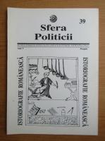Anticariat: Revista Sfera Politicii, anul V, nr. 39, 1996