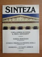 Anticariat: Revista Sinteza, nr. 84, 1990