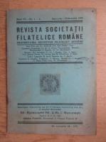 Revista societatii filatelice romane, Anul VI, Nr. 1-2, Ianuarie-Februarie 1943
