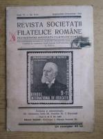 Revista societatii filatelice romane, Anul VI, Nr. 9-10, Septembrie-Octombrie 1942