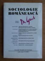 Anticariat: Revista Sociologie Romaneasca, nr. 3-4, 2000