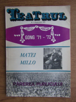 Revista Teatrul, nr. 9, anul XVI, septembrie 1971