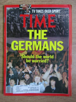 Revista Time. The germans. Should the world be worried? Nr. 13, 26 martie 1990