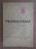 Revista Transilvania, nr. 12, 1975
