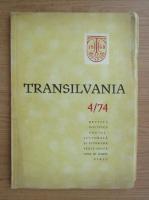 Anticariat: Revista Transilvania, nr. 4, 1974