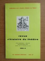 Anticariat: Revue d'histoire du theatre, nr. 2, 1982