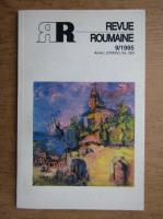 Anticariat: Revue Roumaine, nr. 9, 1995