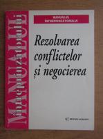 Anticariat: Rezolvarea conflictelor si negocierea