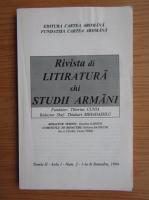 Rivista di litiratura shi studii armani (anul 1, nr. 2, vol. 2)