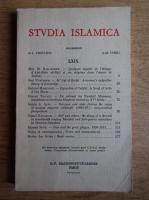 Robert Brunschvig - Studia Islamica