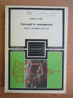 Robert H. Roy - Conceptii in management