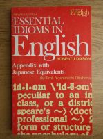 Robert J. Dixson - Essential idioms in english