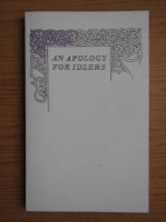 Robert Louis Stevenson - An apology for idlers