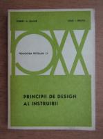 Robert M. Gagne - Principii de design al instruirii