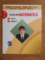 Anticariat: Rodica Maracineanu - Lectia de matematica. Teorie. Aplicatii