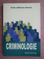 Rodica Mihaela Stanoiu - Criminologie