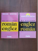 Rodica Radu - Mic dictionar Englez-Roman (2 volume)