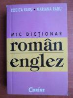 Rodica Radu - Mic dictionar roman-englez