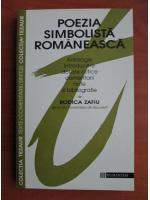 Anticariat: Rodica Zafiu - Poezia simbolista romaneasca