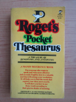 Anticariat: Roget's Pocket Thesaurus