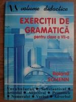 Anticariat: Roland Schenn - Exercitii de gramatica pentru clasa a VII-a