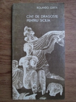 Anticariat: Rolando Certa - Cant de dragoste pentru Sicilia