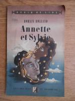 Anticariat: Romain Rolland - Annette et Sylvie
