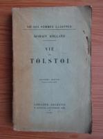 Romain Rolland - Vie de Tolstoi (1922)
